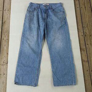 Levis Womens 569 Loose Straight Jeans 33 x 30
